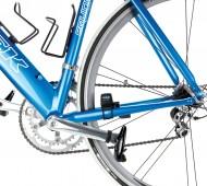 Wahoo Blue SC op een fiets
